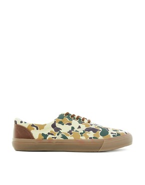 Image 3 ofASOS Trainers with Camo Print