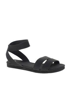 Image 1 ofASOS FUN FAIR Flat Sandals