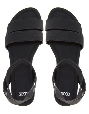 Image 2 ofASOS FUN FAIR Flat Sandals