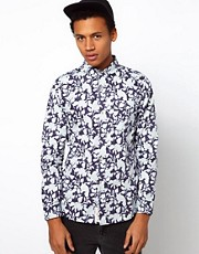 Bellfield Shirt With Floral Print