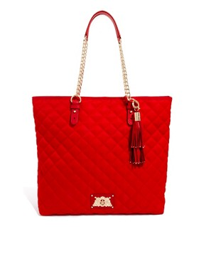 Image 1 ofJuicy Couture Anja Nylon Quilted Shopper