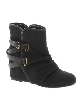Image 1 ofALDO Nennia Strap Wedge Ankle Boots