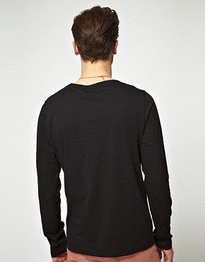 Image 2 ofASOS Long Sleeve Top With Pocket