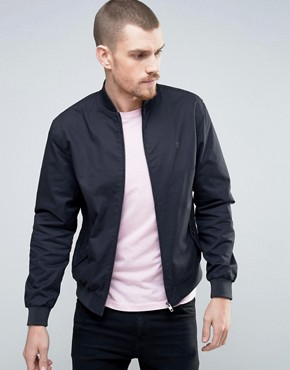 French Connection Bomber Jacket with Chest Branding