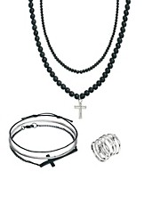 ASOS Cross Jewelry Pack