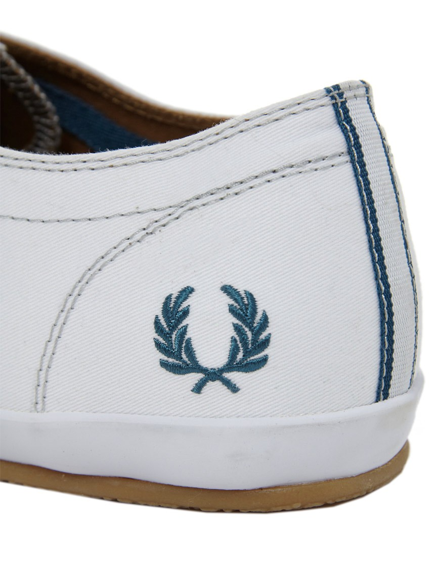 Image 2 of Fred Perry Finn Plimsolls