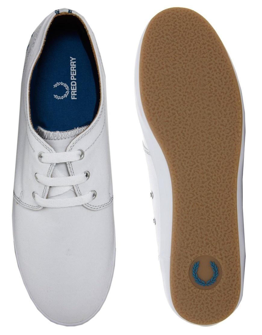 Image 3 of Fred Perry Finn Plimsolls