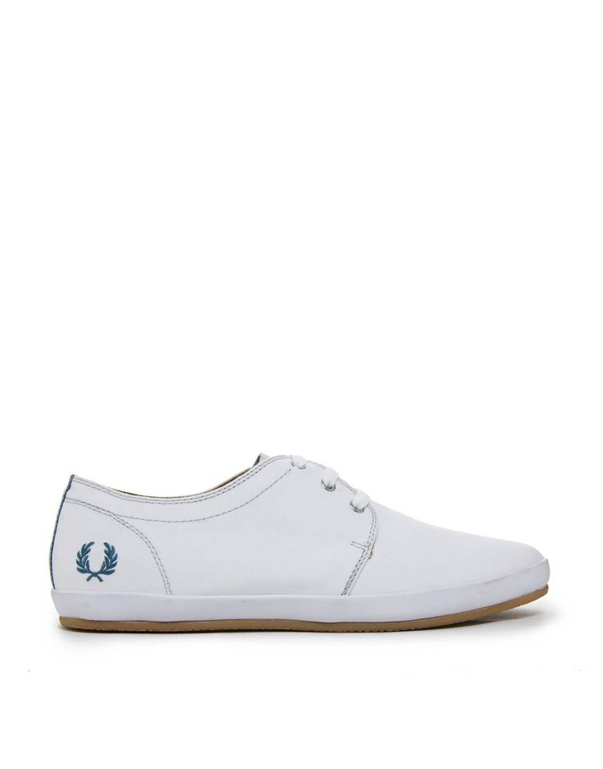 Image 4 of Fred Perry Finn Plimsolls