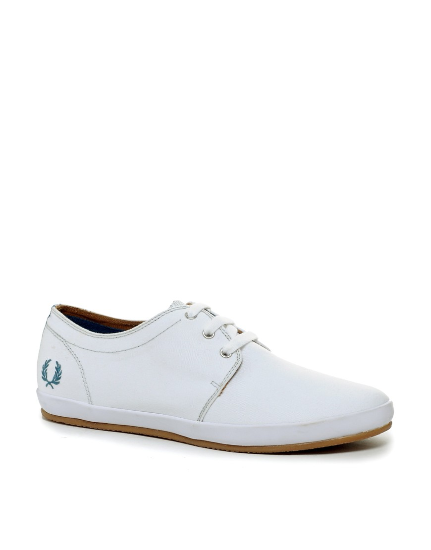 Image 1 of Fred Perry Finn Plimsolls