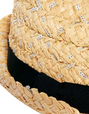 Image 3 ofRiver Island Sequin Trilby Hat