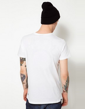 Image 2 of55DSL T-Shirt Little White Lies Online Exclusive Shhh Print