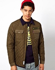 Mishka Jacket Karamojo Quilted Military