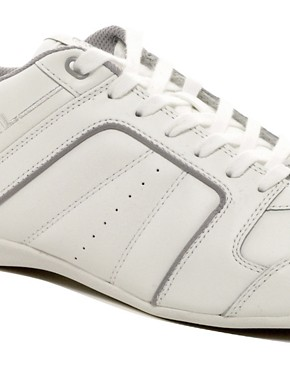 Image 2 ofDiesel Hurrikane Leather Trainers