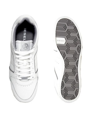 Image 3 ofDiesel Hurrikane Leather Trainers