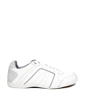 Image 4 ofDiesel Hurrikane Leather Trainers