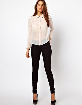 Image 4 ofLipsy Blouse with Embellished Cuffs