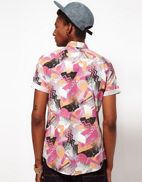 Image 2 ofASOS Shirt In Spray Print