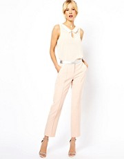 ASOS Trousers with Metallic Waistband