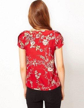 Image 2 ofA Wear Vintage Print Top