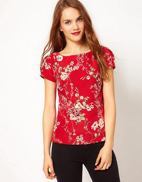 Image 1 ofA Wear Vintage Print Top