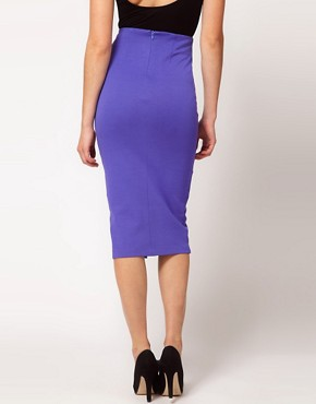 Image 2 ofASOS Pencil Skirt With Vent Front