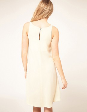 Image 2 ofASOS Maternity Exclusive Swing Dress With Dipped Hem