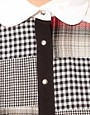 Image 3 ofASOS Shirt With Patchwork Check Prints