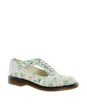 Dr Martens Kensington Caryn Cut Out Floral Shoes