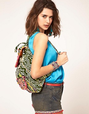 Image 3 ofASOS Oversized Tex Mex Skull Backpack