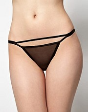 Kallisti by Marios Schwab for ASOS Inc Mesh Double Strap Knicker