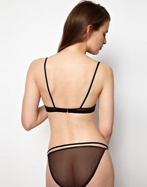 Image 2 ofKallisti by Marios Schwab for ASOS Inc Mesh Double Strap Knicker