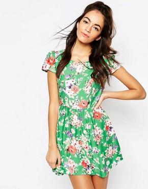 Motel Topi Dress in Gypsy Rose Print