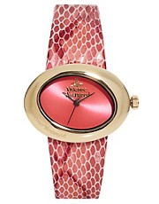 Vivienne Westwood Pink Ellipse II Watch