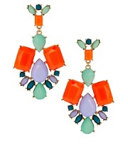 ASOS Summer Doorknocker Earrings
