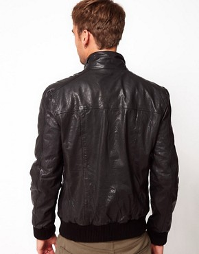 Image 2 ofCode Leather Jacket Bomber