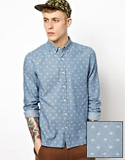 ASOS Shirt With Umbrella Print