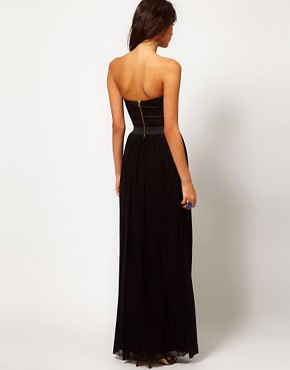 Image 2 ofRare Maxi Dress with Bustier Jewel Embellishment