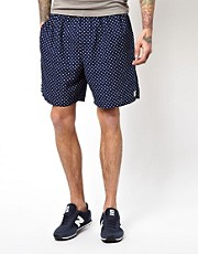 Wood Wood  Shorts mit Punktemuster
