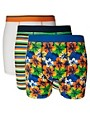 Image 1 ofRiver Island Floral Three Pack Trunks