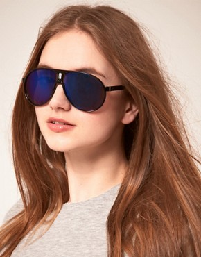 Bild 3 von ASOS  Pilotensonnenbrille aus Kunststoff mit verspiegelten Glsern