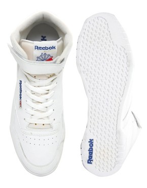 Image 3 ofReebok Ex-O-Fit Hi-Top Trainers