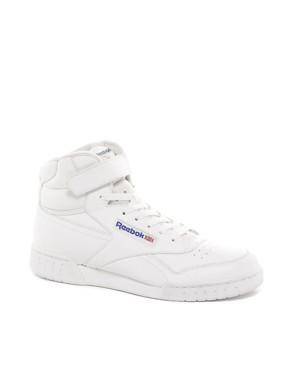 Image 1 ofReebok Ex-O-Fit Hi-Top Trainers
