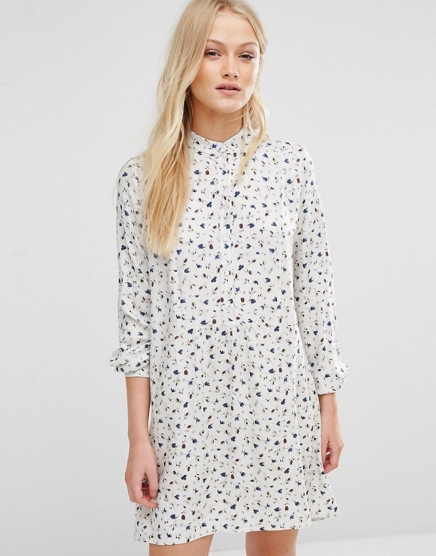 Newlily Ditsy Print Smock Dress - Multi
