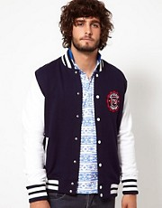 SpyDenim Jacket Jersey Varsity