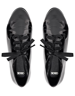 Image 4 ofASOS MOMENT Flat Shoes