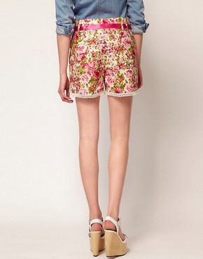 Image 2 ofJohann Earl Floral Print Shorts