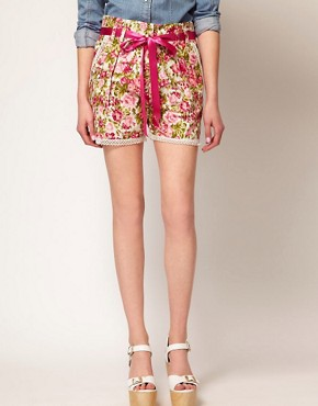 Image 4 ofJohann Earl Floral Print Shorts