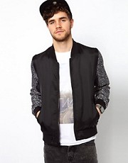 ASOS - Bomber double-face