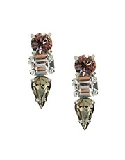 Krystal Swarovski Spike Drop Earrings