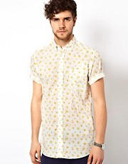 Liberty Print Shirt with RosePrint